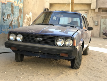 Old Toyota in Middle East