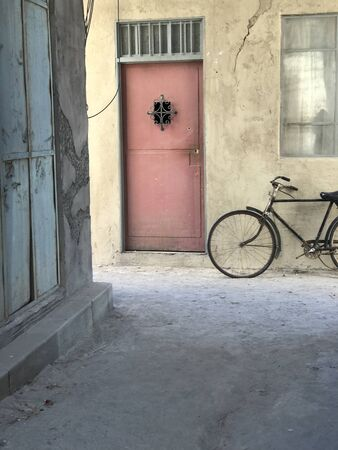 Parked Bike in Middle East