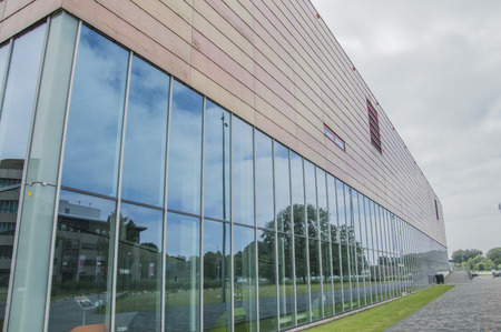 Sportcentrum Universum At The Science Park At Amsterdam The Netherlands 2018 Editorial