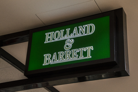Holland & Barrett Sign At Diemen The Netherlands 2018 Sajtókép