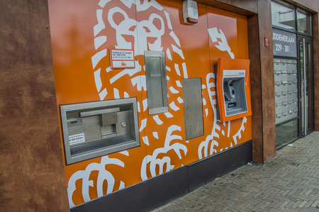 ING Bank ATM And Outside Service Center At Diemen The Netherlands 2018