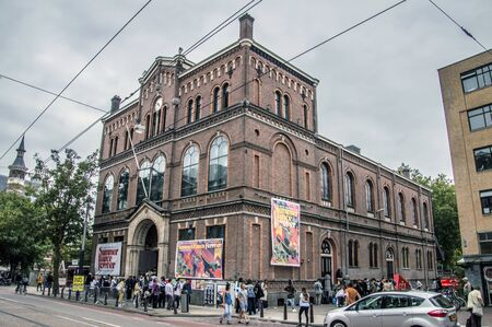 Paradiso Building At Amsterdam The Netherlands 2018. Summer Dance Forever Festival