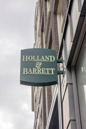 Billboard Holland & Barrett At Amsterdam The Netherlands 2019