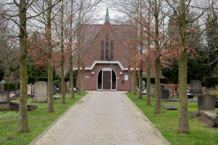 Entrance Of The Rustoord Cemetery At Diemen The Netherlands 2020