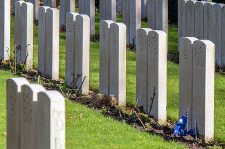 Commonwealth War Graves At The Nieuwe Ooster Graveyard At Amsterdam The Netherlands 2019