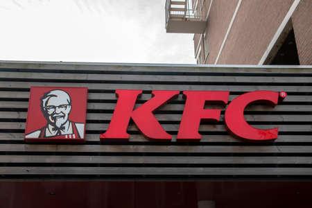 KFC Restaurant At Scheveningen The Hague Netherlands 2019