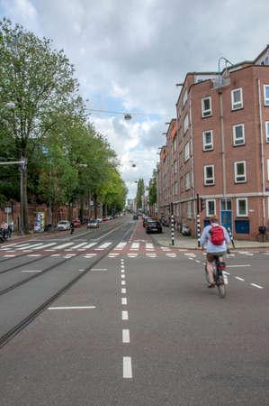 'S-Gravesandestraat Street At Amsterdam The Netherlands 2019