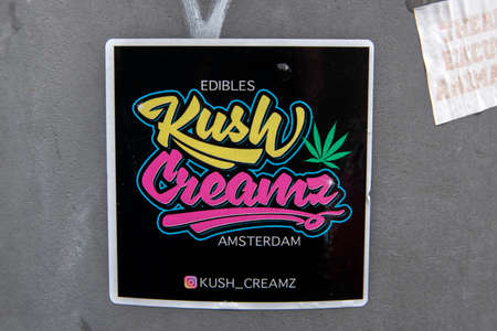 Sticker Jush Creamz At Amsterdam The Netherlands 2020
