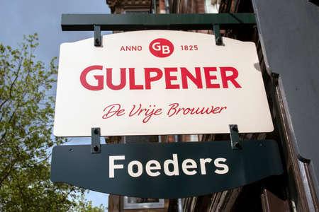 Billboard Gulpener At Amsterdam The Netherlands 2020
