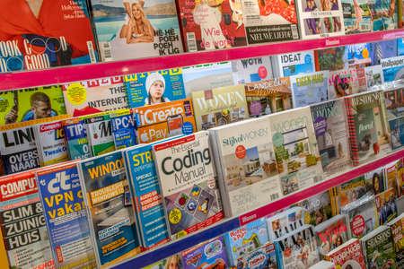 Magazines In A Store At Amsterdam The Netherlands 2019
