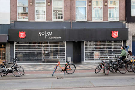 Army Of Salvation Closed Due To The Corona Virus Outbreak At Amsterdam The Netherlands 2020 新聞圖片