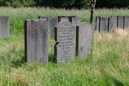 Graves At The Jewish Cemetery Zeeburg At Amsterdam The Netherlands 22-6-2020 Sajtókép