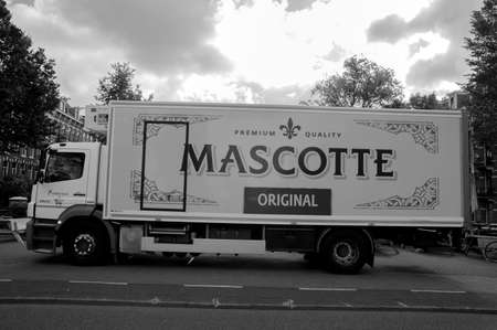 Mascotte Company Truck At Amsterdam The Netherlands 20-6-2020