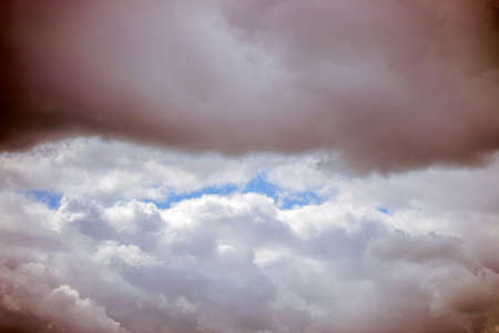 Close Up Of Abstract Clouds At Amsterdam The Netherlands 7/29/2020 Stock fotó