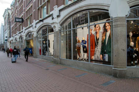 WE Shop At The Kalverstraat At Amsterdam The Netherlands 2018