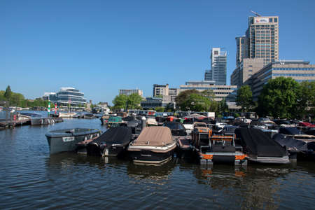 Harbor At The Somerlust Park At Amsterdam The Netherlands 5/25/2020
