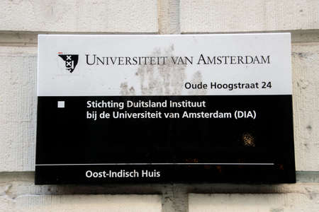 Billboard Foundation Germany Institute From The UVA University At Amsterdam The Netherlands 22-11-2020