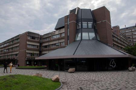 Student Housing Campus At Diemen The Netherlands 6/15/2020 Entrance 4