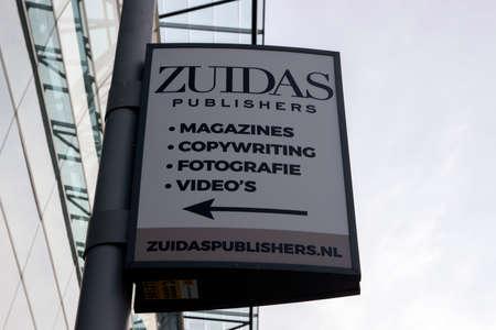 Billboard Zuidas Publishers At Amsterdam The Netherlands 11-2-12-2019