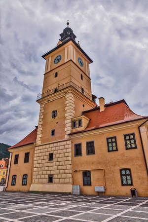 brasov: Old Town Hall in Brasov in Romania