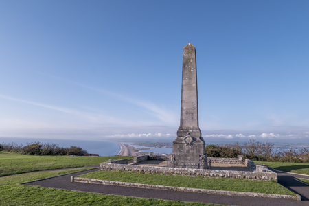 Portland Cenotaph in Dorset in England