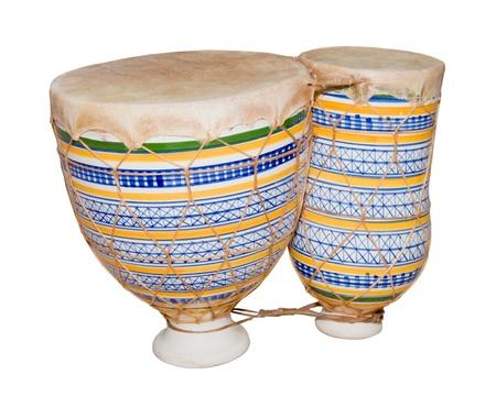 African bongo tom-tom drums photo