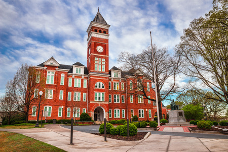 Tillman Hall at Clemson University Редакционное