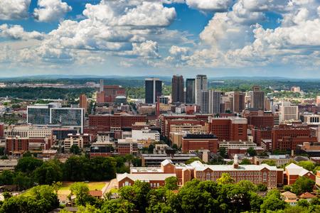 Downtown Birmingham, Alabama, from Vulcan Park
