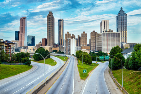 Atlanta downtown skyline photo