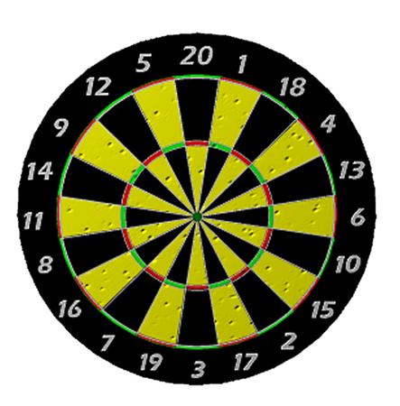 holed: Dart Board - Target