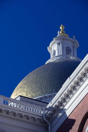 Detail of the Massachusetts State House photo