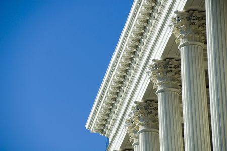 Corinthian Columns at the Massachusetts State House photo