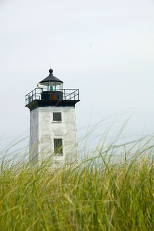 ma: Long Point Lighthouse in Provincetown, Cape Cod, MA, USA Stock Photo