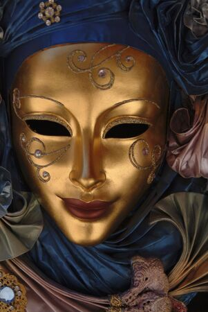 Close up of a carnival mask in Venice Stock Photo - 912987