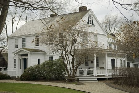 View of A Historical Home in Deerfield  photo