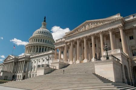 Los Estados Unidos Capitolio en Washington, DC