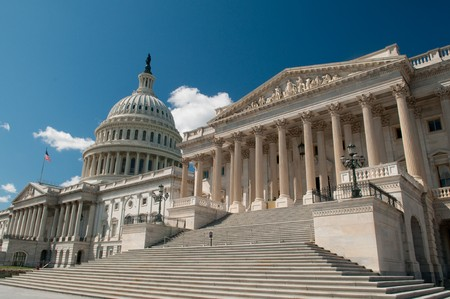 government: The United States Capitol Building in Washington, DC