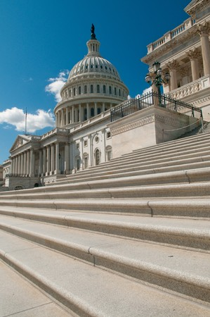 The United States Capitol Building in Washington, DC photo