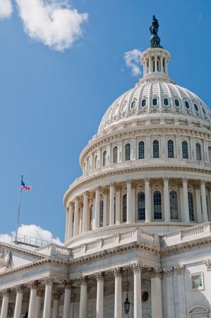 regierung: Das United States Capitol in Washington, DC