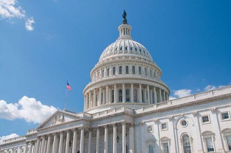 dc: Gli Stati Uniti Capitol Building a Washington, DC Archivio Fotografico