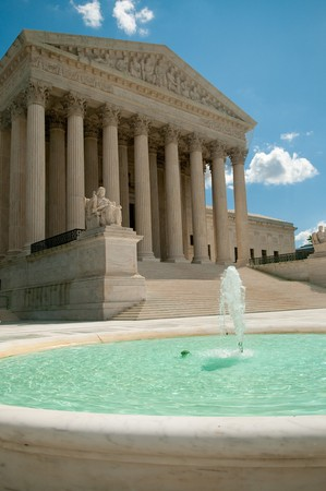 judiciary: The Supreme Court of the United States in Washington, DC, USA