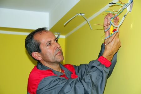 Portrait of an Electrician