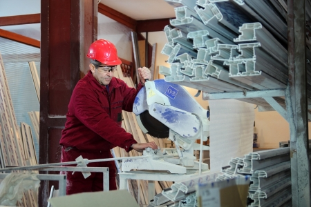 PVC windows and doors manufacturing.