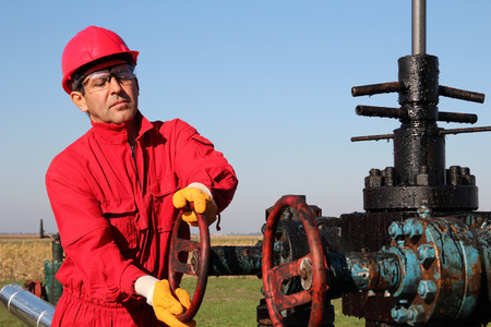 Oil and Gas Well Drilling Worker photo