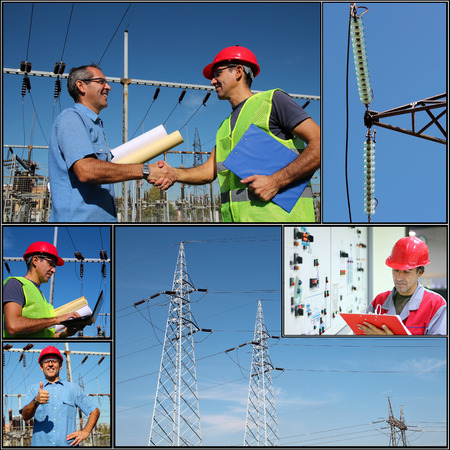 megawatt: Power Company Electrical Engineers - Collage