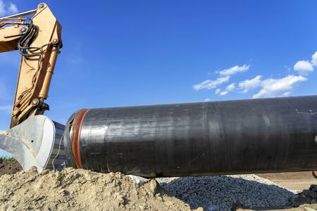 Construction Work on the Installation of the Pipeline