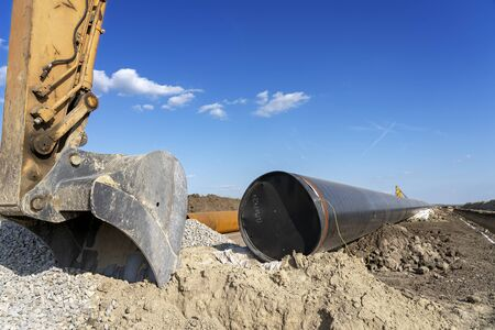 Construction Site of the Natural Gas Pipeline - Turkish Stream