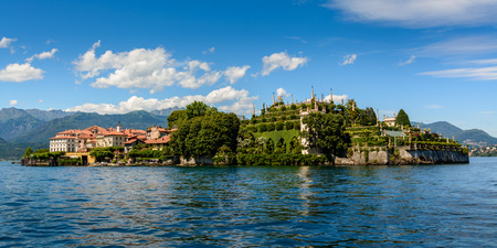 Isola Bella is located in the middle of Lake Maggiore. The\ island owes its fame to the Borromeo family who built a magnificent\ palace with a beautiful garden.