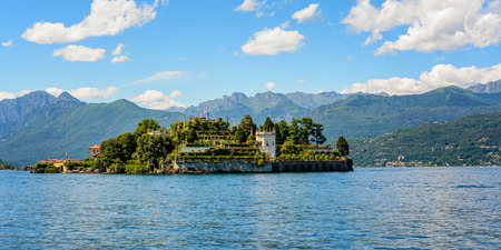owes: Isola Bella is located in the middle of Lake Maggiore. The island owes its fame to the Borromeo family who built a magnificent palace with a beautiful garden.