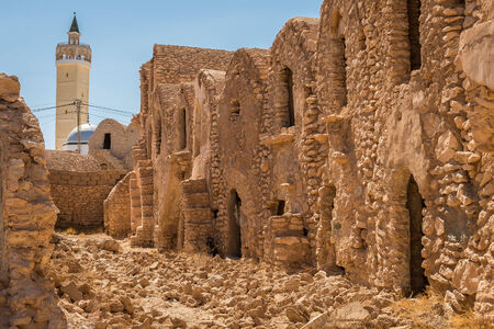 episodes: Located about twenty kilometers from the Sahara, Ksar Haddada